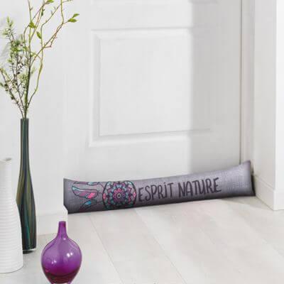 Coussin bas de porte / Boudin - 85 x 15 cm - Attrape-rêve - Dreamcatcher