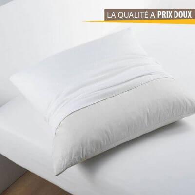 Protège oreiller - Hypoallergénique - 60 x 60 cm