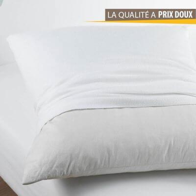 Protège oreiller - Hypoallergénique - 50 x 70 cm