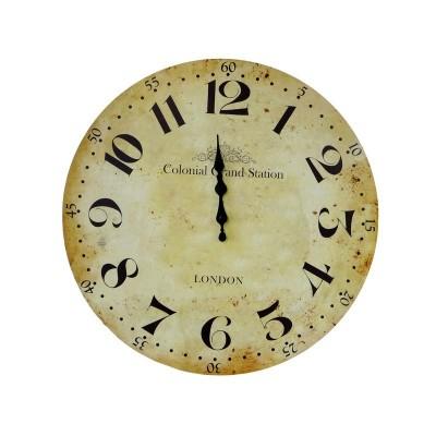 Horloge - Diam 45 cm - Bois...