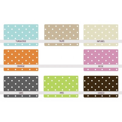 6 sets de table - Lolly Pop - Pois vichy
