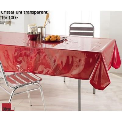 Nappe - Cristal transparent...