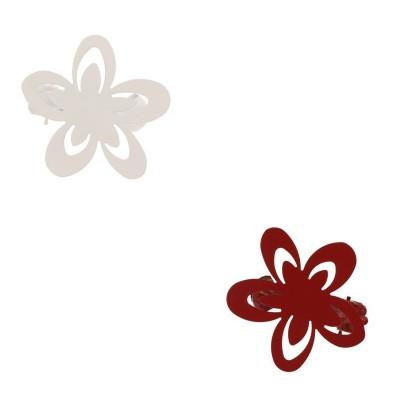 Lot de 2 pinces - Fleur - 2...