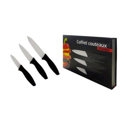 Coffret de 3 couteaux -...