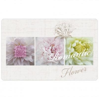6 sets de table opaques - 28,5 x 44 cm - Romantic flower