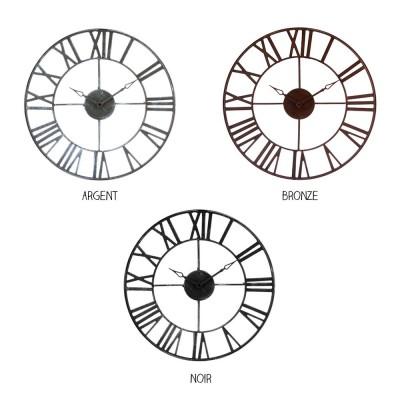 Horloge - Métal - Diam 40...