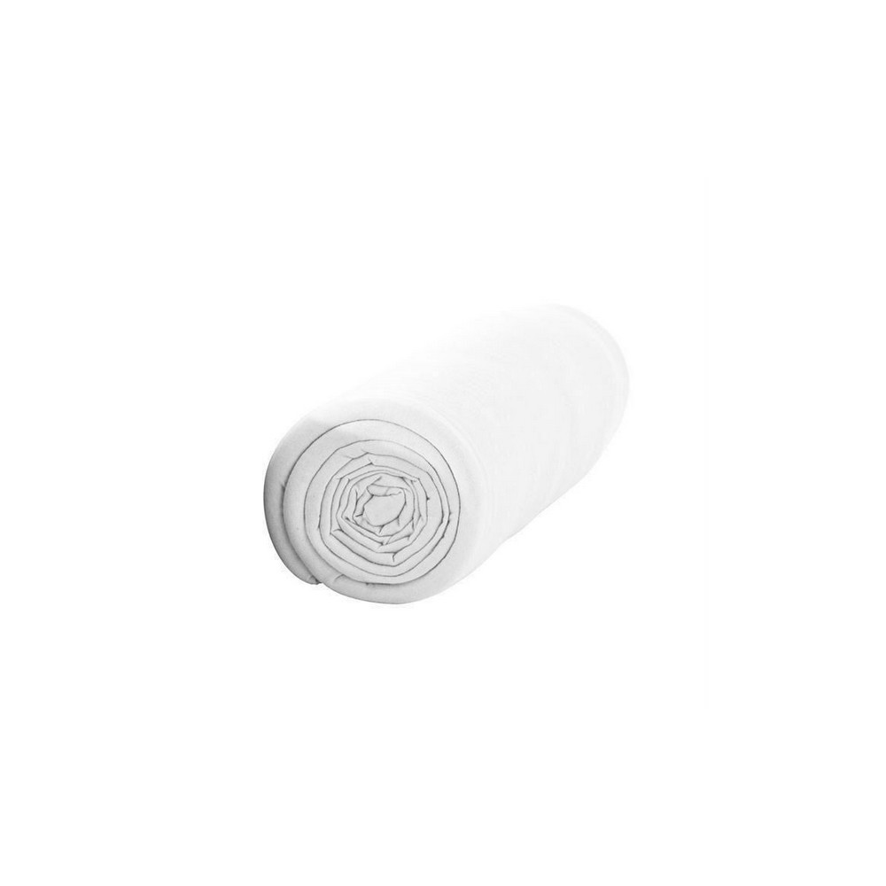 Drap housse - 160 x 200 cm - Percale - 78 fils/cm² - Différents coloris : Couleur:Chantilly