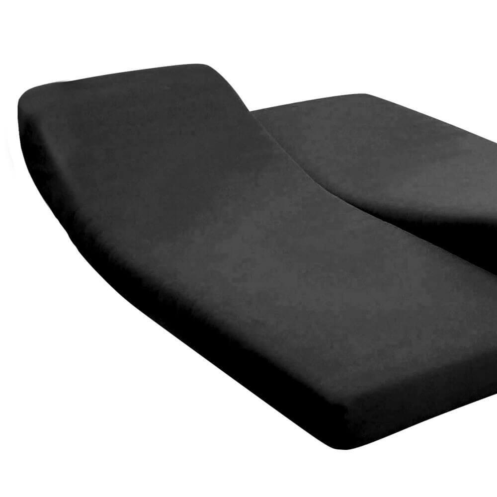 DH - 180 x 200 cm - pour lit articulé : Couleur:Noir