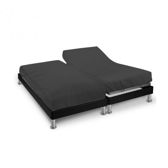 Drap house - 2 x (80 x 200 cm) - pour lit articulé