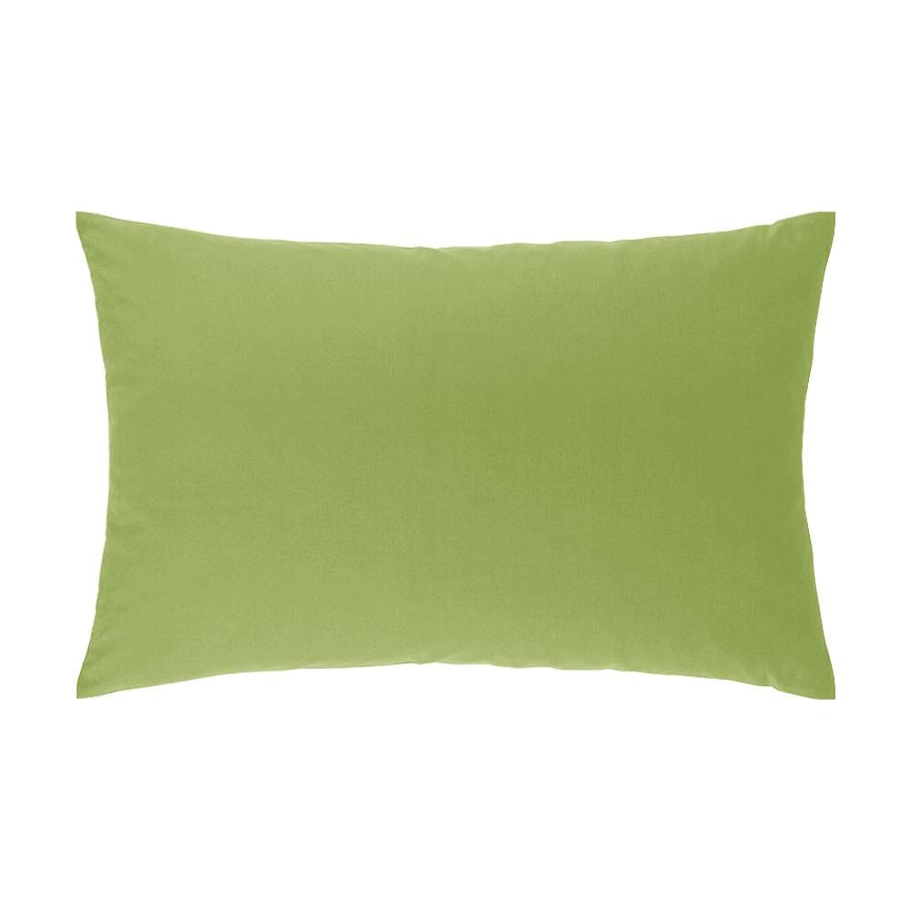 Taie d'oreiller rectangle - 50 x 75 cm - Atmo - Uni : Couleur:Anis