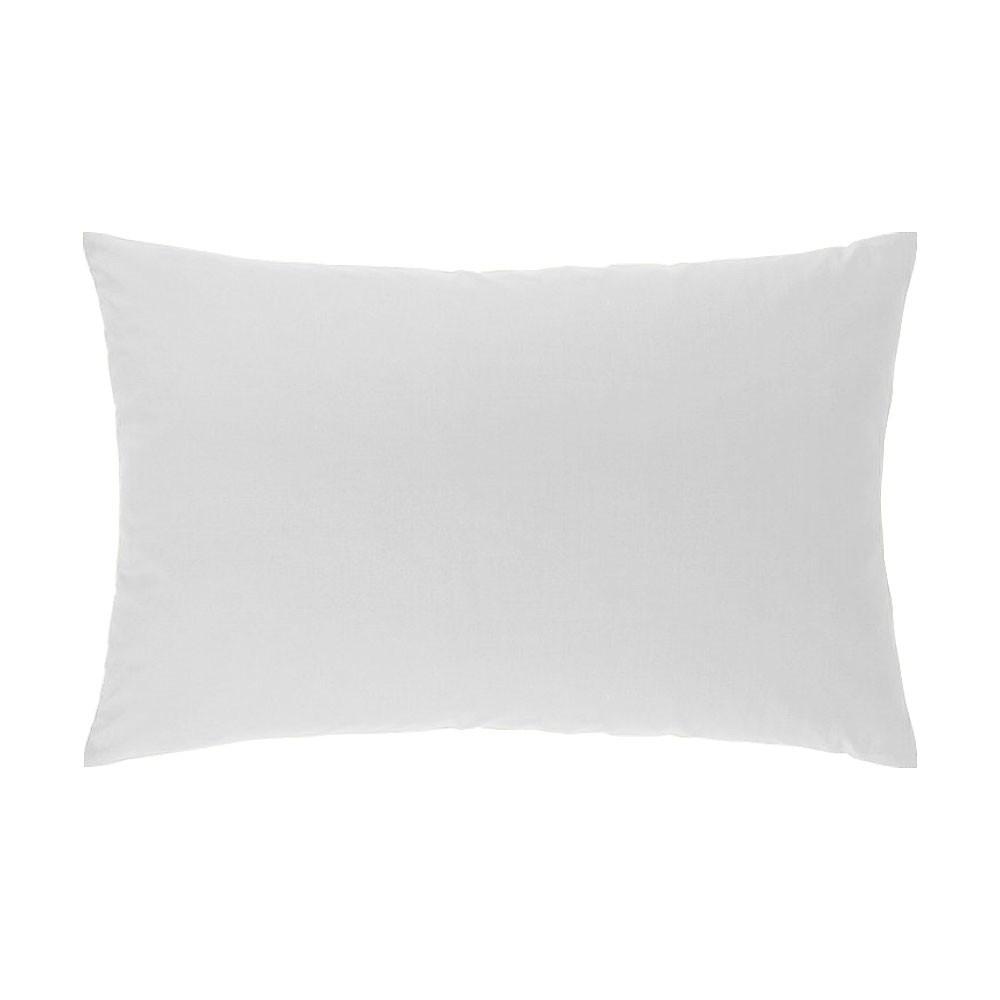 Taie d'oreiller rectangle - 50 x 75 cm - Atmo - Uni : Couleur:Blanc