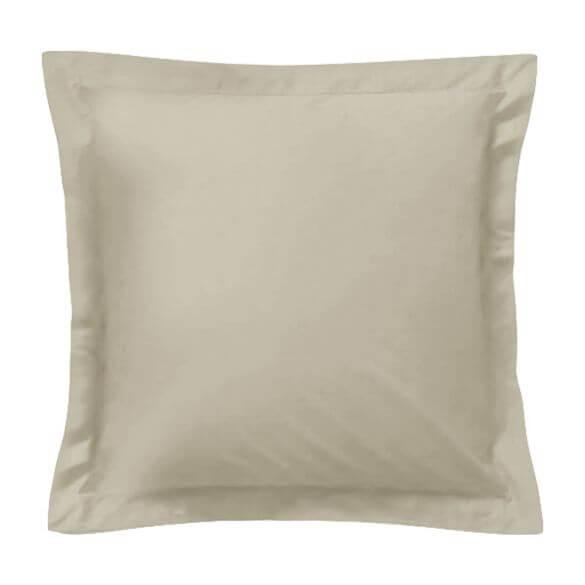 Taie d'oreiller carrée - 65 x 65 cm - 57 fils - 100% coton - France