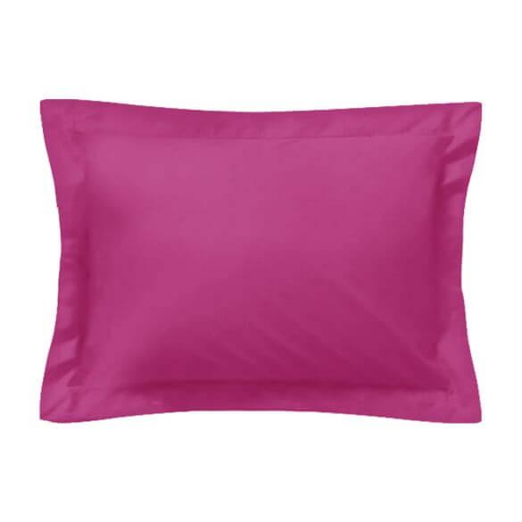 Taie américaine d'oreiller rectangle - 50 x 75 cm - 100% coton - France
