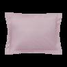 Taie d'oreiller rectangle - 50 x 75 cm - 100% coton - France : Couleur:Rose