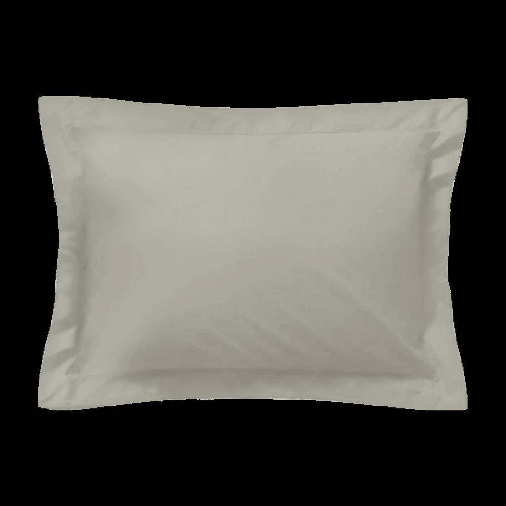 Taie d'oreiller rectangle - 50 x 75 cm - 100% coton - France : Couleur:Écru