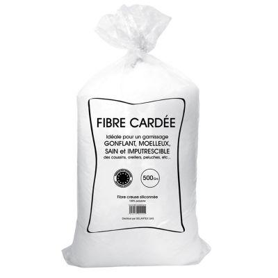 Balle de fibre - Anti-acarien - 500 grammes