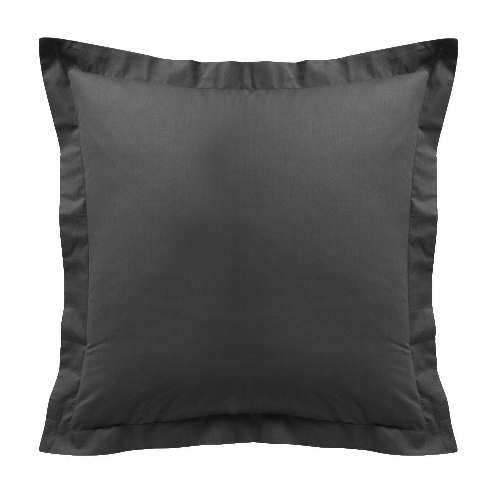 Taie d'oreiller - Carrée - 60 x 60 cm - Différents coloris : Couleur:Canon de fusil