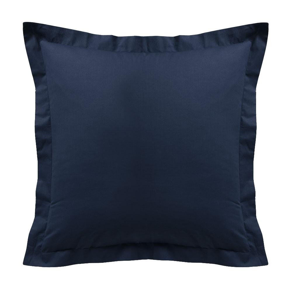 Taie d'oreiller - Carrée - 60 x 60 cm - Différents coloris : Couleur:Ciel d'orage