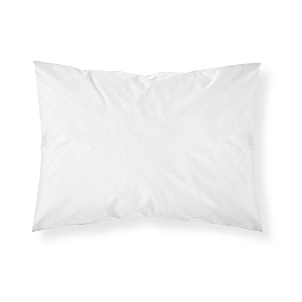 Taie d'oreiller rectangle - 50 x 70 cm - Différents coloris : Couleur:Chantilly