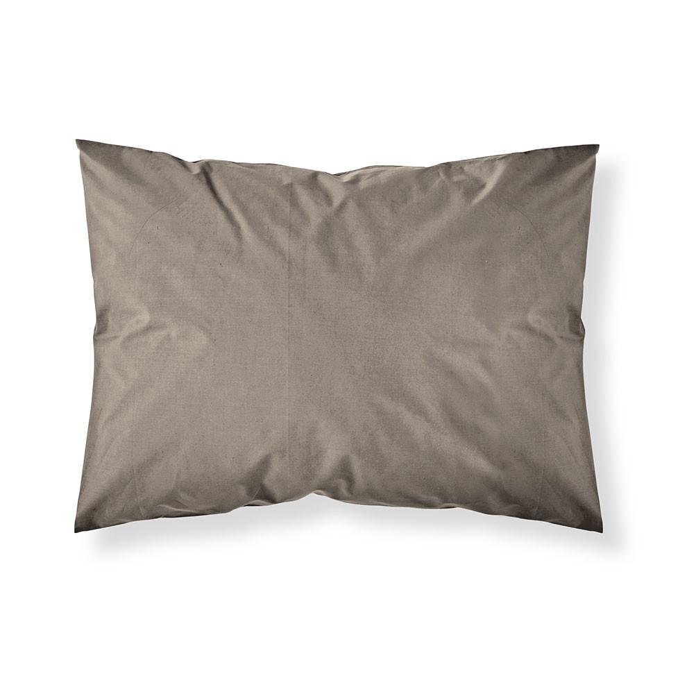 Taie d'oreiller rectangle - 50 x 70 cm - Différents coloris : Couleur:Bronze