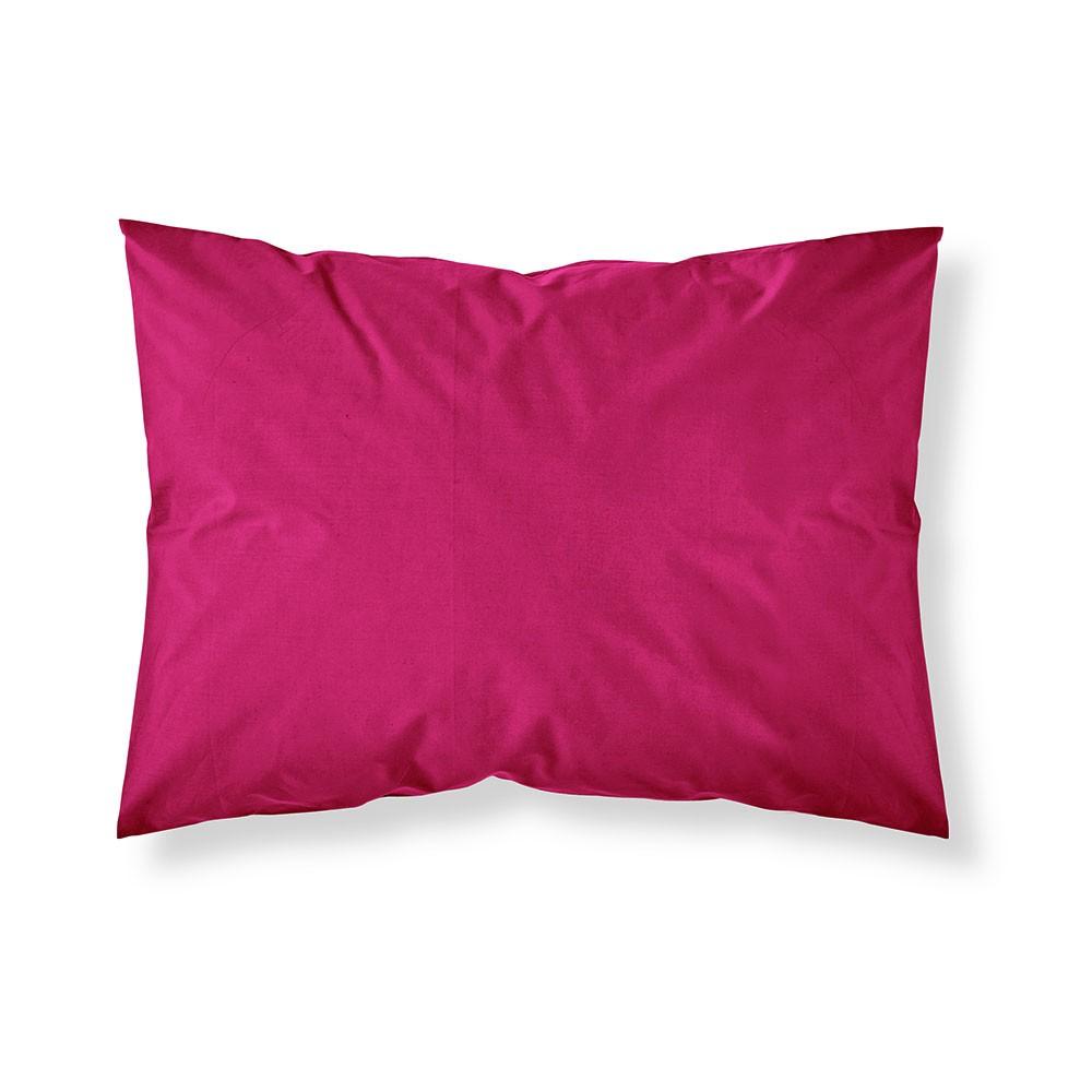 Taie d'oreiller rectangle - 50 x 70 cm - Différents coloris : Couleur:Jus de myrtille