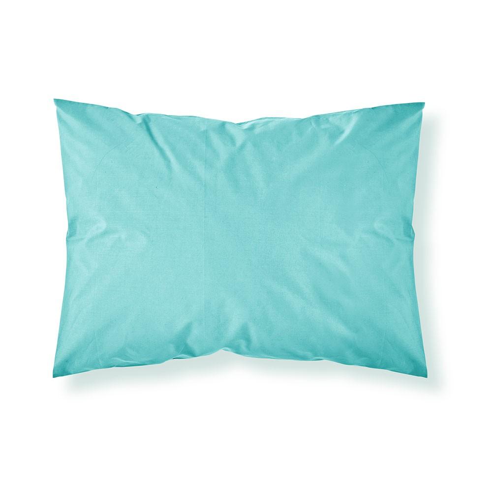 Taie d'oreiller rectangle - 50 x 70 cm - Différents coloris : Couleur:Portofino