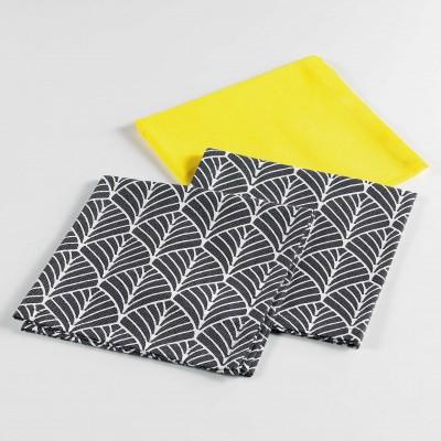 Lot de 3 serviettes de...