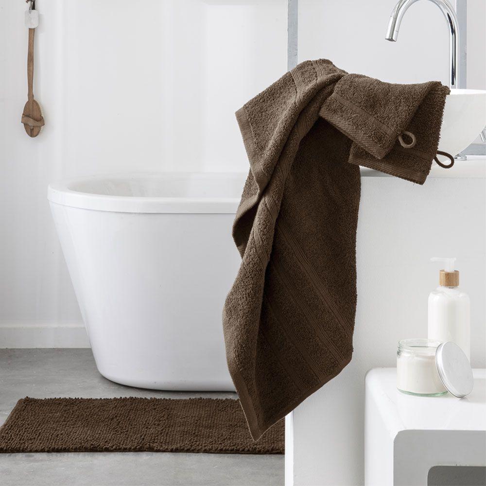 Serviette de toilette - 500 gr/m² - 50 x 90 cm - Today : Couleur:Bronze