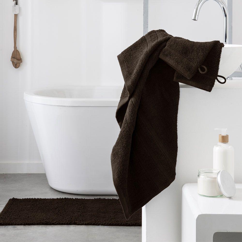 Serviette de toilette - 500 gr/m² - 50 x 90 cm - Today : Couleur:Cacao