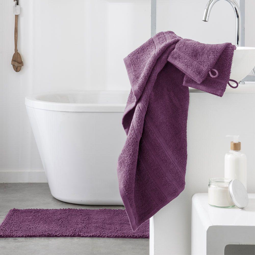 Serviette de toilette - 500 gr/m² - 50 x 90 cm - Today : Couleur:Figue