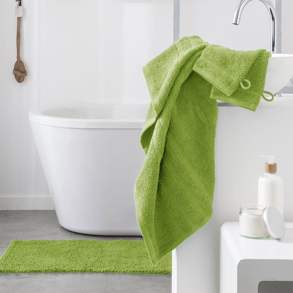 Serviette de toilette - 500 gr/m² - 50 x 90 cm - Today : Couleur:Fougère