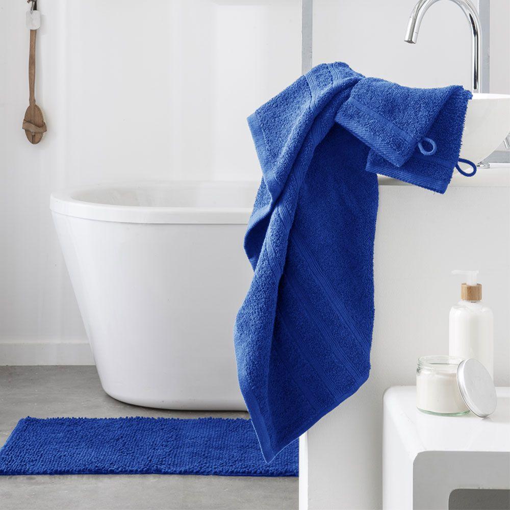 Serviette de toilette - 500 gr/m² - 50 x 90 cm - Today : Couleur:Indigo
