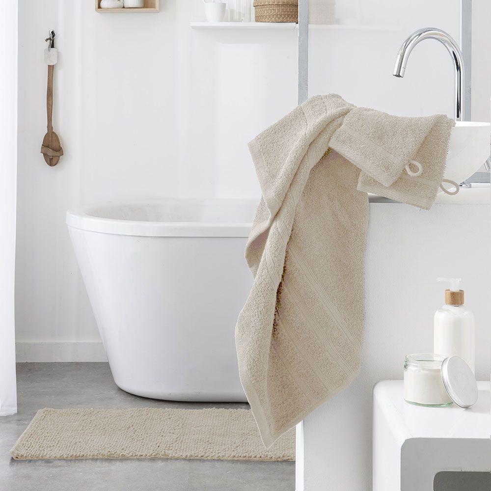 Serviette de toilette - 500 gr/m² - 50 x 90 cm - Today : Couleur:Ivoire