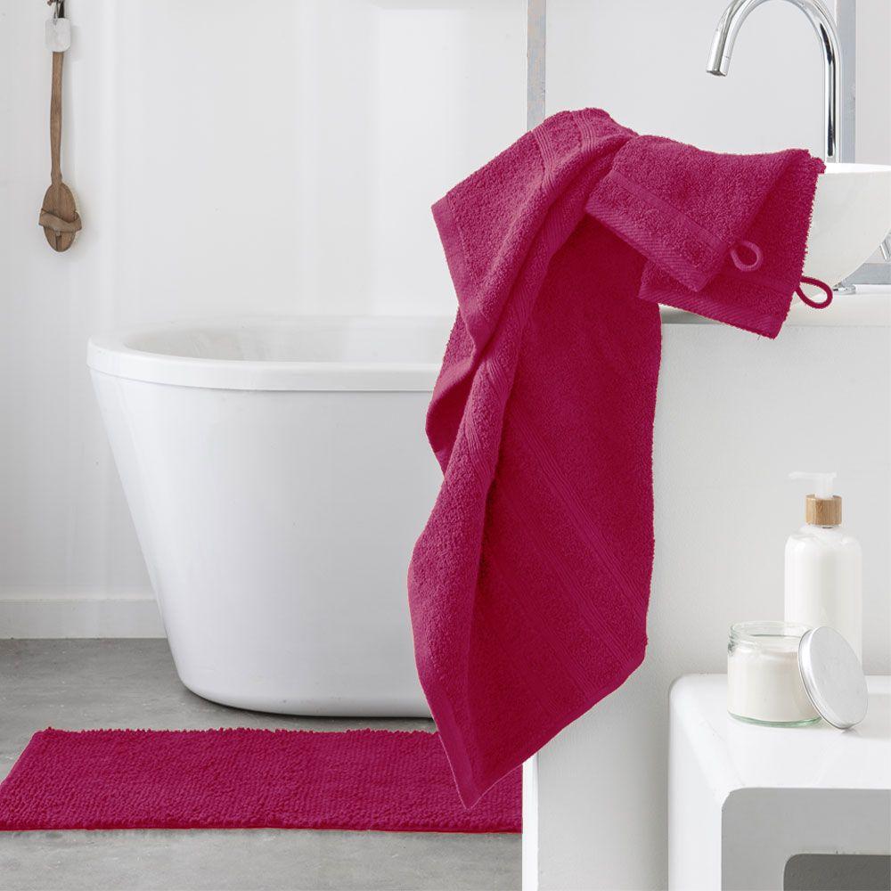 Serviette de toilette - 500 gr/m² - 50 x 90 cm - Today : Couleur:Jus de myrtille