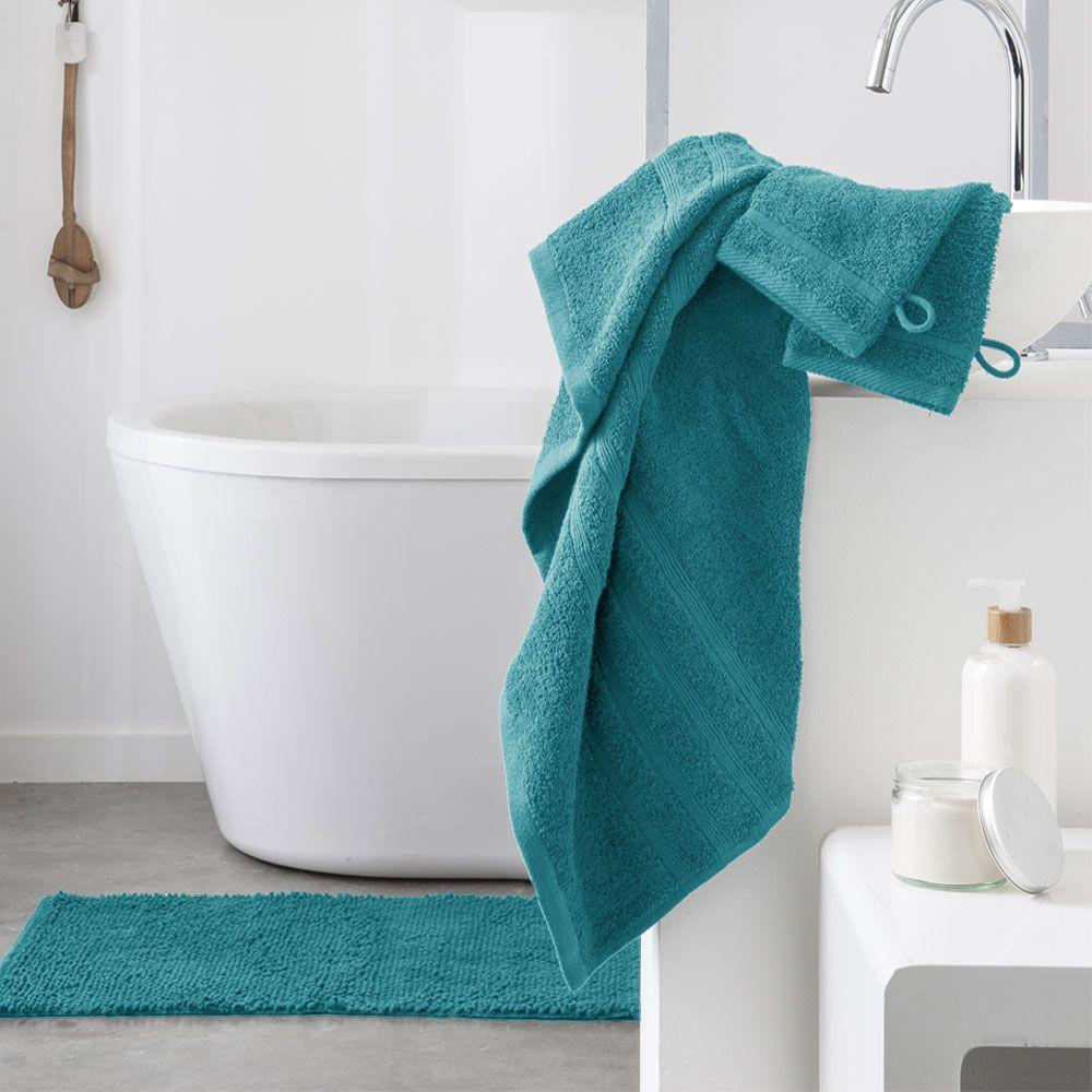 Serviette de toilette - 500 gr/m² - 50 x 90 cm - Today : Couleur:Mer du sud