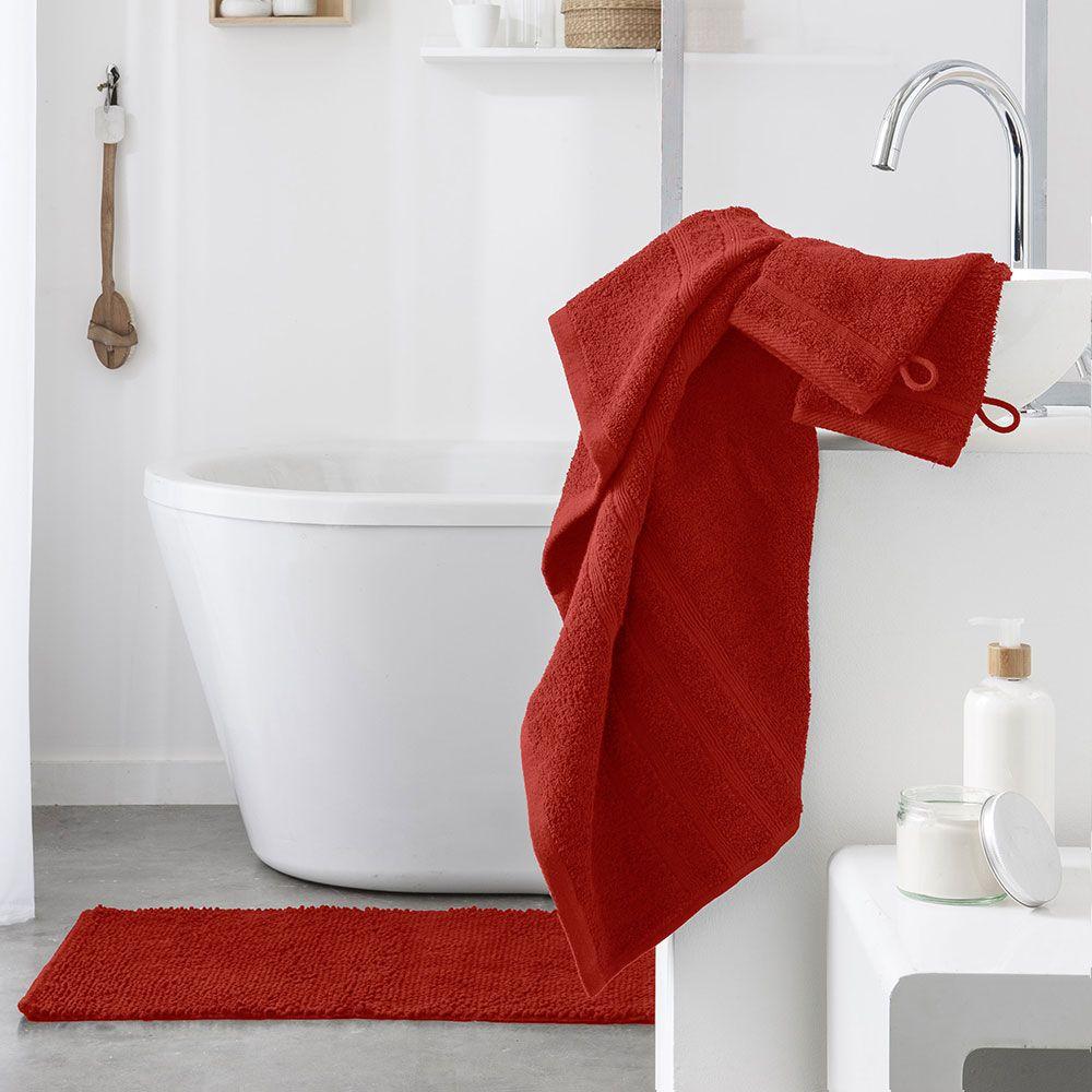 Serviette de toilette - 500 gr/m² - 50 x 90 cm - Today : Couleur:Pomme d'amour
