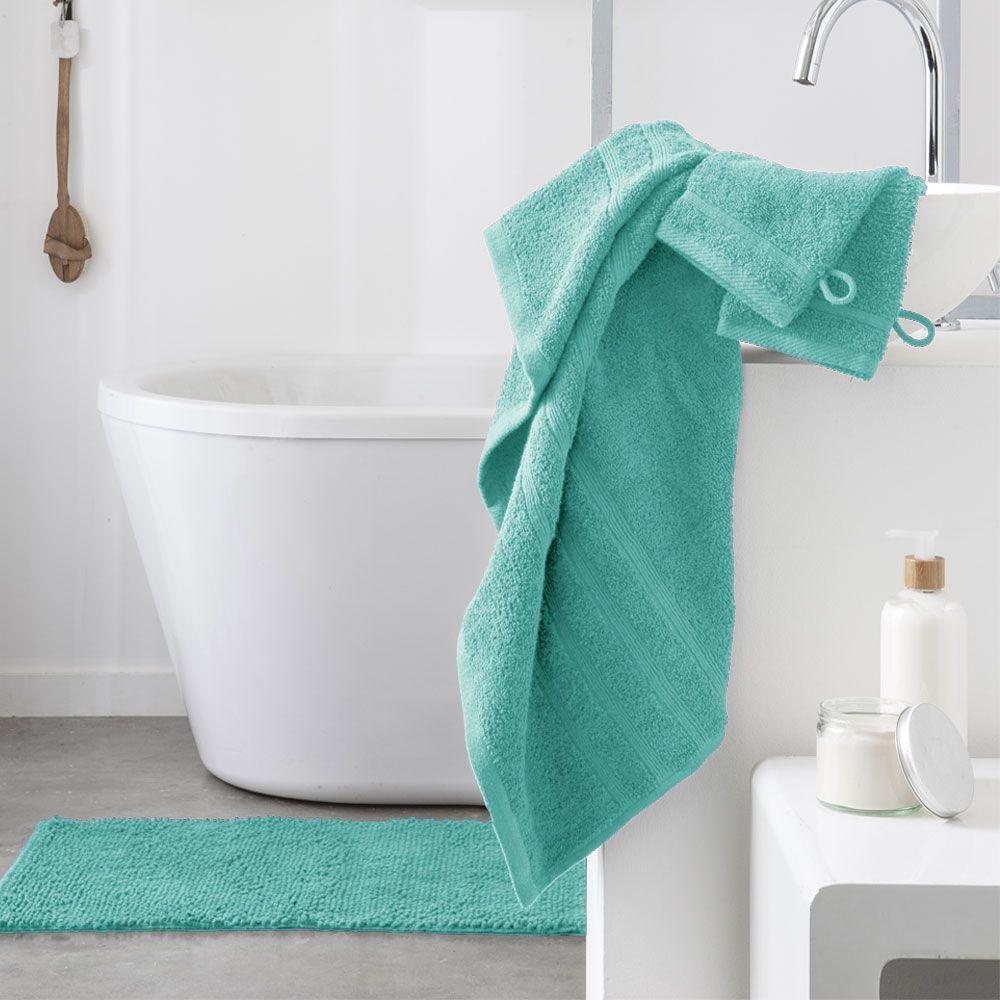 Serviette de toilette - 500 gr/m² - 50 x 90 cm - Today : Couleur:Portofino