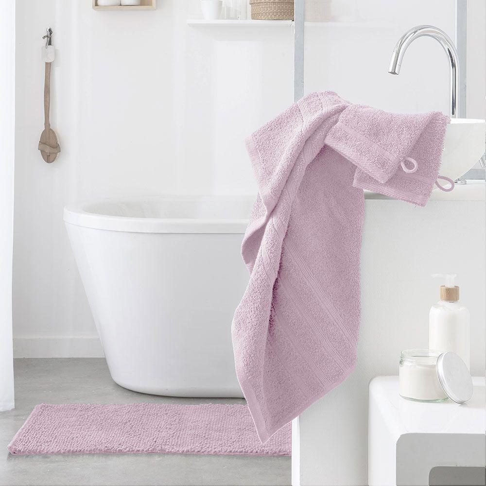 Serviette de toilette - 500 gr/m² - 50 x 90 cm - Today : Couleur:Lili Rose