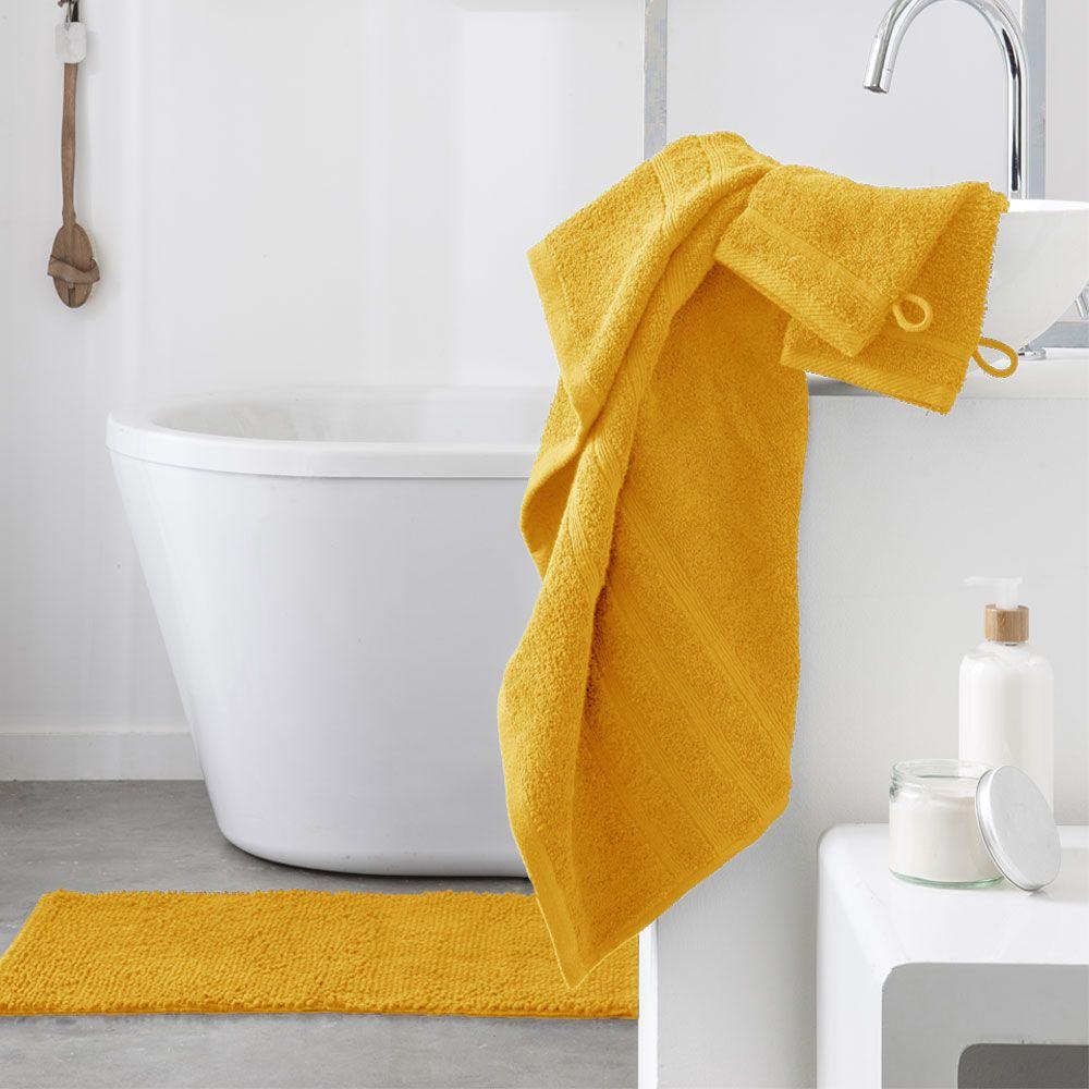 Serviette de toilette - 500 gr/m² - 50 x 90 cm - Today : Couleur:Safran
