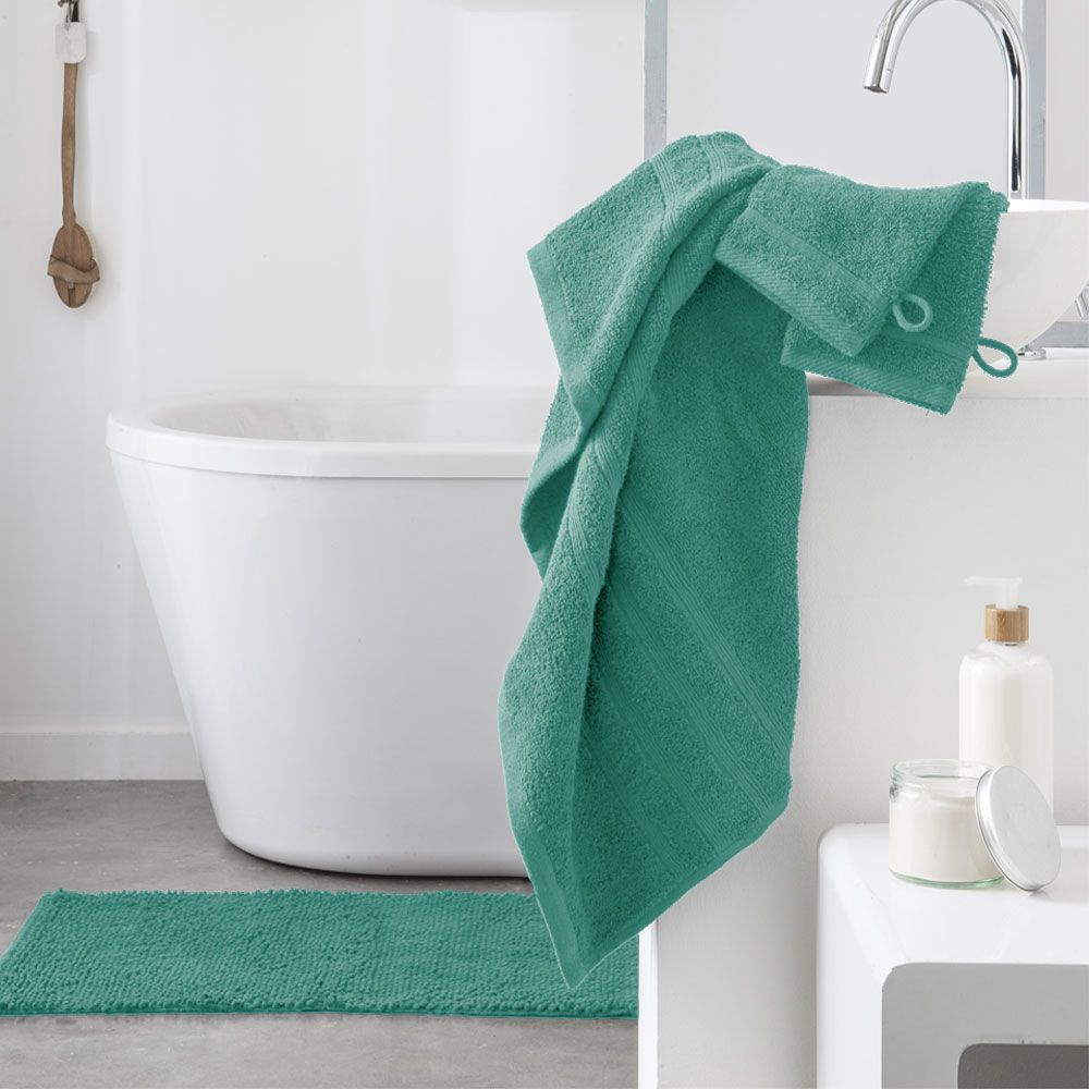 Serviette de toilette - 500 gr/m² - 50 x 90 cm - Today : Couleur:Diabolo menthe