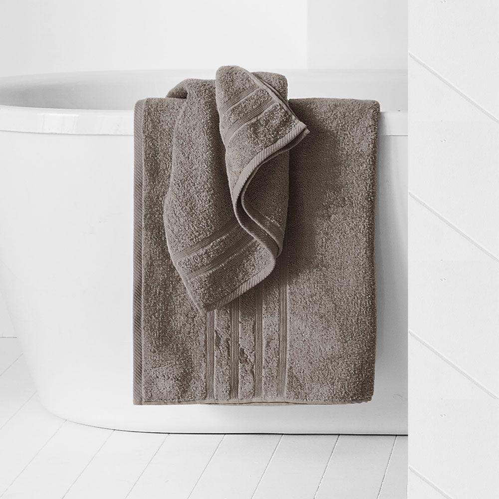 Drap de douche - 500 gr/m² - 70 x 130 cm - Today : Couleur:Bronze