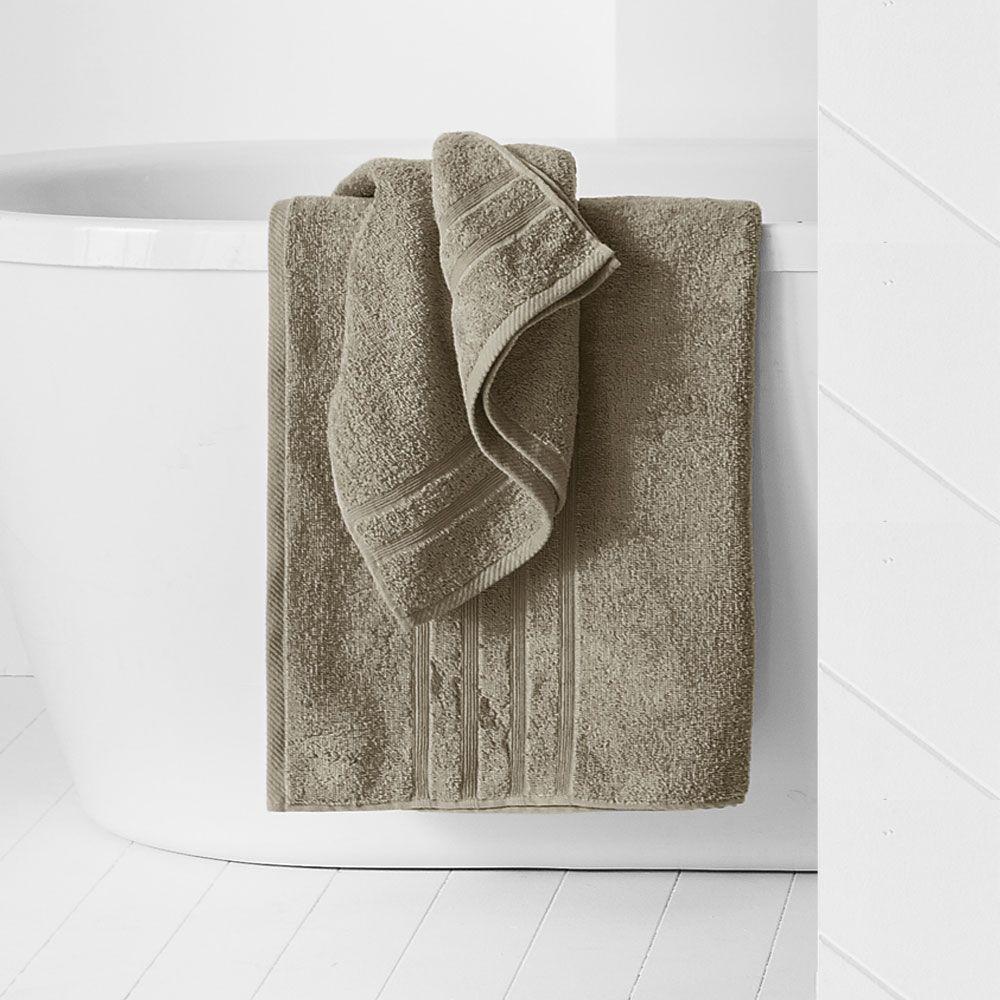 Drap de douche - 500 gr/m² - 70 x 130 cm - Today : Couleur:Mastic