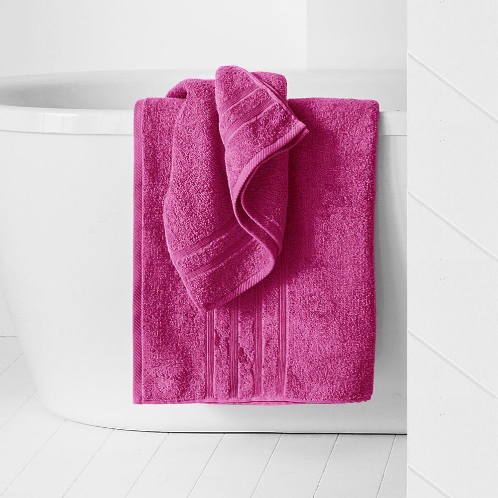 Drap de douche - 500 gr/m² - 70 x 130 cm - Today : Couleur:Jus de myrtille
