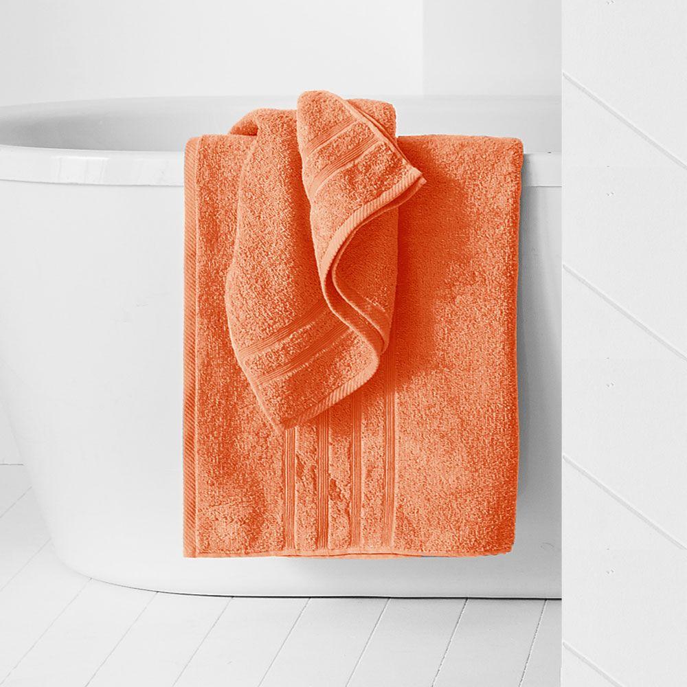 Drap de douche - 500 gr/m² - 70 x 130 cm - Today : Couleur:Corail
