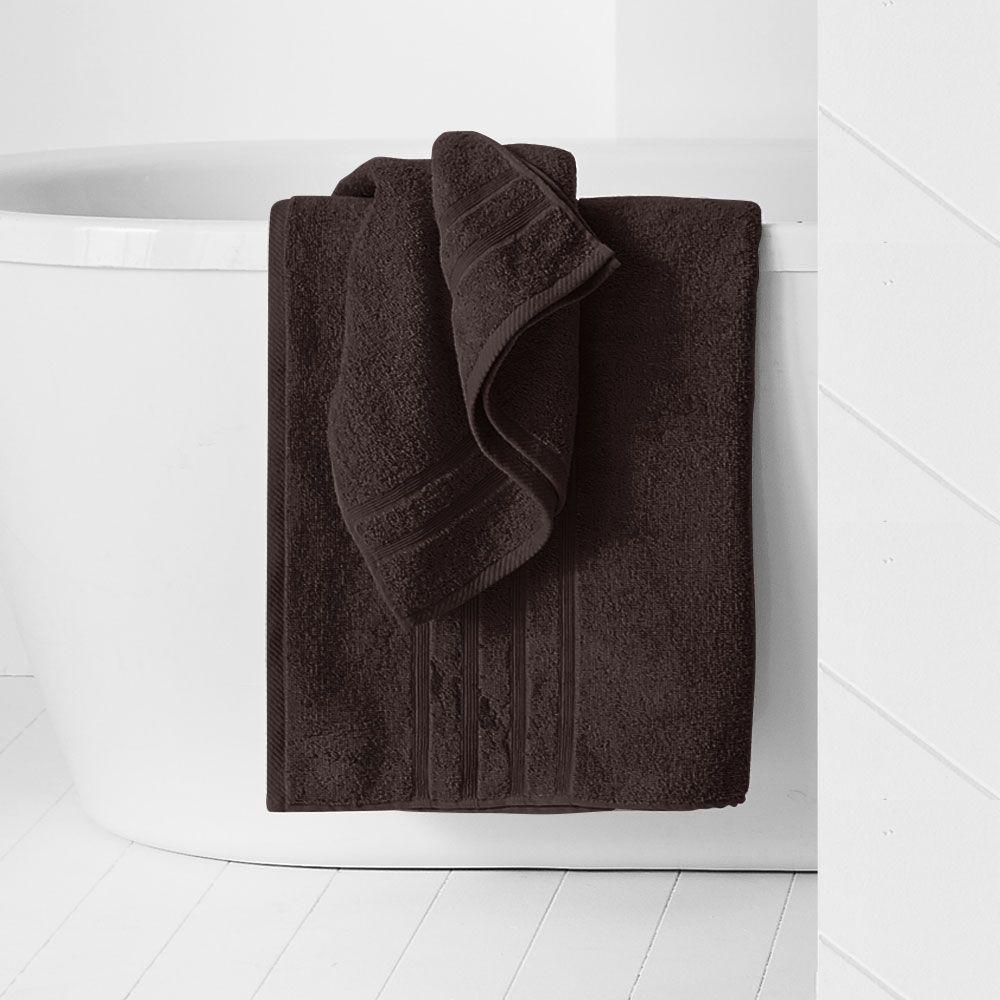 Drap de douche - 500 gr/m² - 70 x 130 cm - Today : Couleur:Cacao