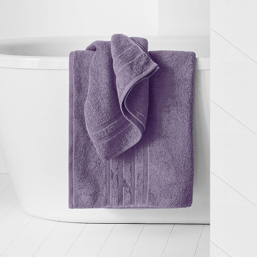 Maxi drap de bain - 500 gr/m² - 90 x 150 cm - Today : Couleur:Figue