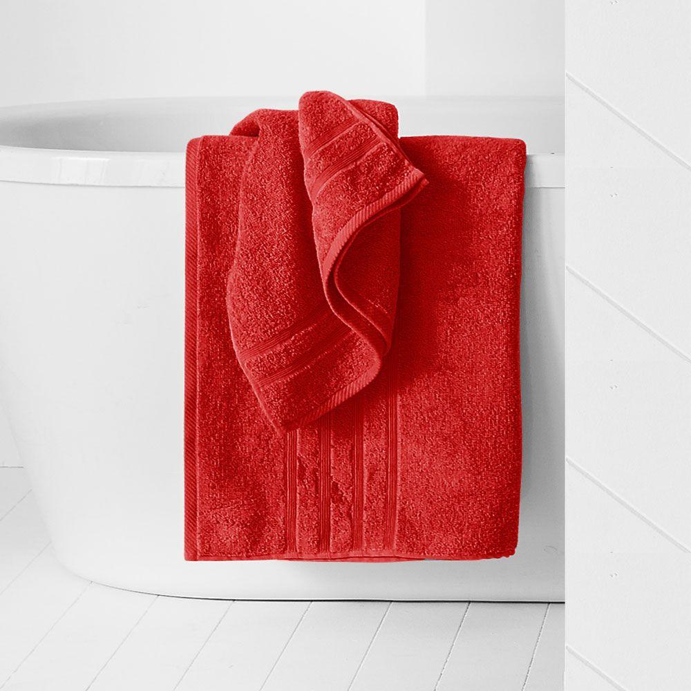 Maxi drap de bain - 500 gr/m² - 90 x 150 cm - Today : Couleur:Pomme d'amour