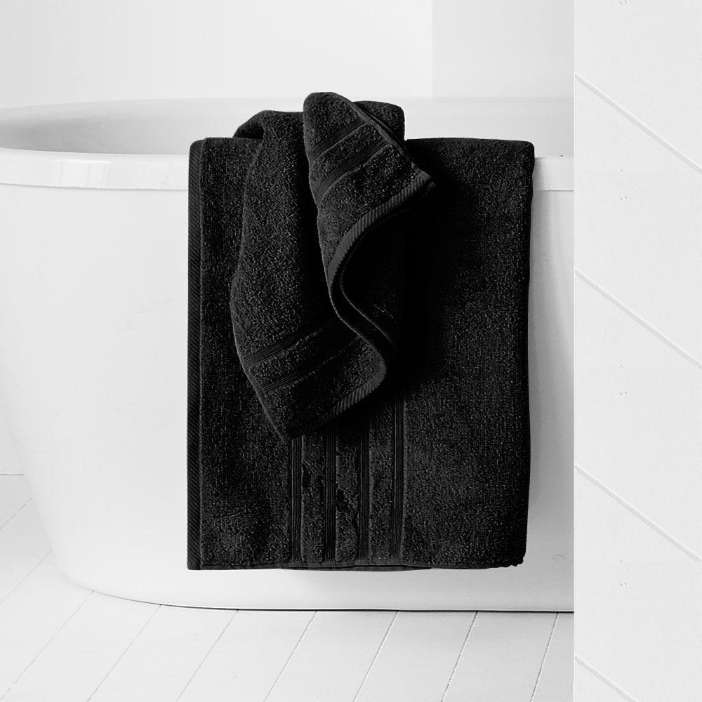 Maxi drap de bain - 500 gr/m² - 90 x 150 cm - Today : Couleur:Réglisse