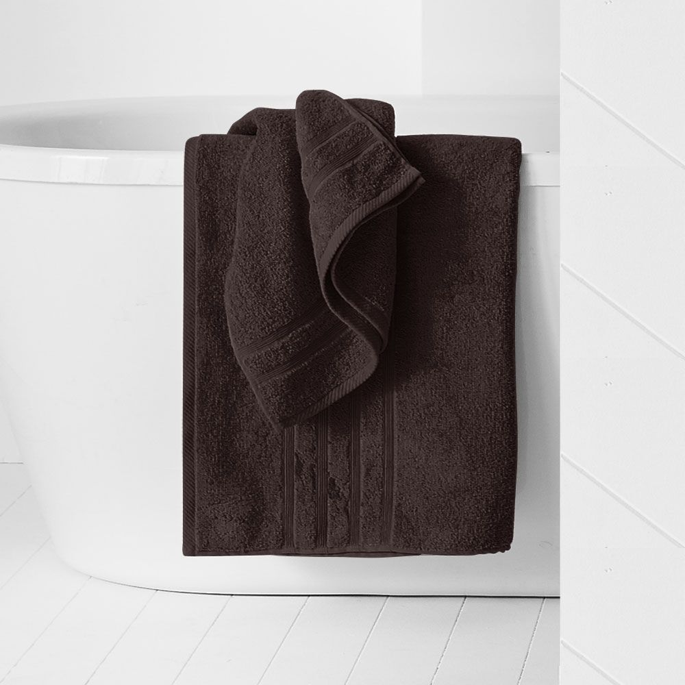 Maxi drap de bain - 500 gr/m² - 90 x 150 cm - Today : Couleur:Cacao