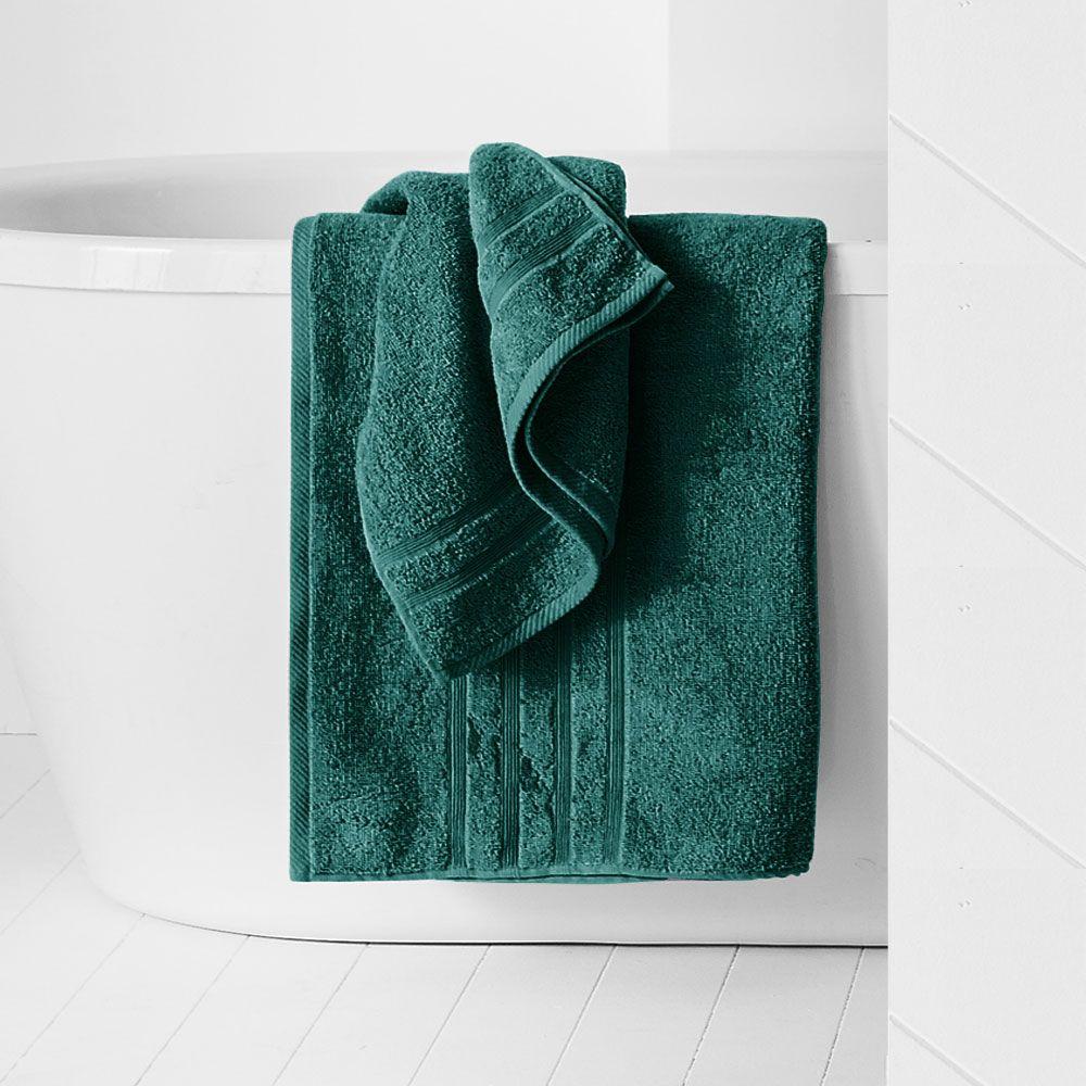 Maxi drap de bain - 500 gr/m² - 90 x 150 cm - Today : Couleur:Emeraude
